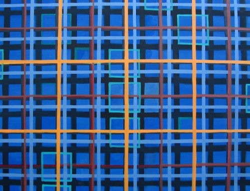 Big Blue 2005 Oil on Canvas 180x120cm