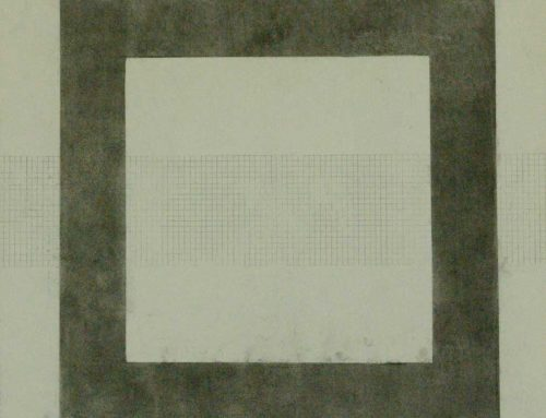 Grid Drawing Fragment No21 51x51cm