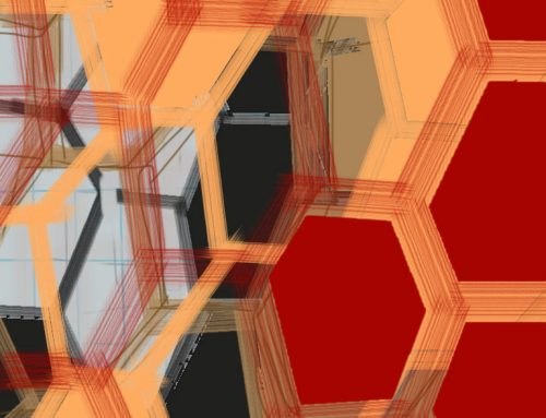 Lattice No 2 Digital Drawing 2014